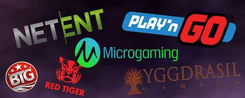 Les fournisseurs de jeux avec qui le casino devrait s'associer